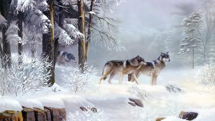 winter-snow-animals-wolves-1920x1080-wallpaper