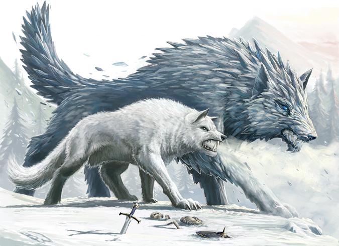 Winter_Wolves_by_BenWootten